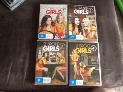 2 broke girls seasons 1-4
