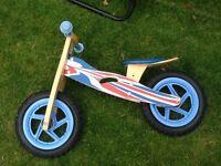 Balance bike hardly used