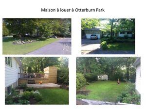 Maison à louer Otterburn park