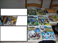 wii games (some never used)