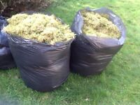 Large bags of garden moss perfect for hanging badkets