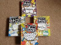 4 books by Tom Gates excellent condition