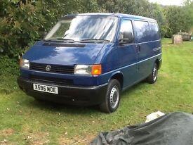 VW T4 TRANSPORTER VAN 2.5 TURBO DIESEL SWB ONLY 78,000 BLUE 2001