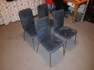 Set of 4 chairs Bulleen Manningham Area Preview