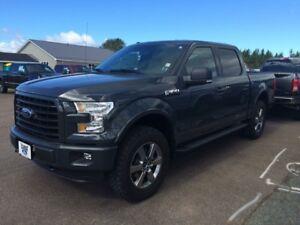 2016 f150 sport with leather