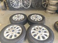 """16"""" FORD TRANSIT CUSTOM SPORT LIMITED ALLOY WHELS / TYRES"""