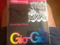 Gio Goi 2 pack boxer shorts