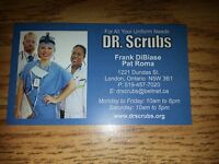 London's Fashion Scrub Destination Place. DR.SCRUBS