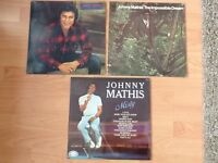 3 Johnny Mathis Lp's