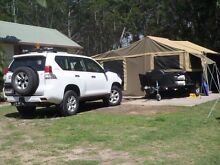 2010 Customline Offroad Camper Trailer BARGAIN price only used 3 times Rockyview Rockhampton Surrounds Preview