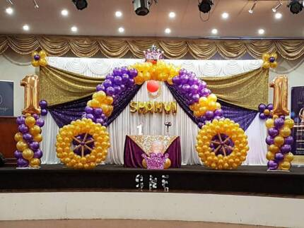 Creative wedding decorations other wedding parties gumtree party balloon decorations junglespirit Choice Image
