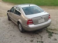 Parting out 2004 Jetta TDI