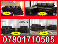 SOFA 3+2 AND RANGE CORNER LEATHER AND FABRIC BRAND NEW ALL UNDER £250 7734
