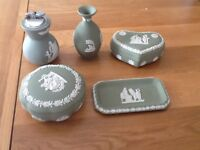 Collection of Sage Green Wedgewood