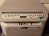 Brother copier working order but will need drum soon. Cheap toner and drums available on eBay