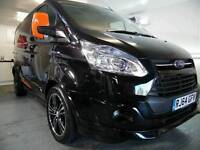 SPORT CONVERTED Ford Transit Custom 2.2 TDCi 290 Limited Double CREW Cab-in-Van