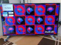 "Samsung The Frame QE43LS03T 43"" 4K Ultra HD HDR Smart QLED TV with Apple TV app Freesat HD"