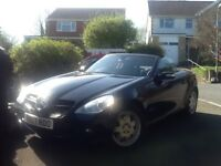 Mercedes Benz SLK200 convertible very LOW mileage.