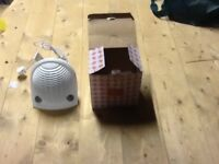 Small Freestanding Electric Fan Heater
