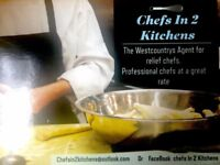 Recruiting chefs in Devon and Cornwall for work in near areas