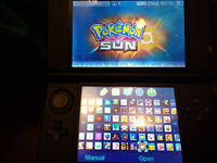Silver 3DS XL with 121 Best 3DS Games worth £1600 - Pokemon, Mario, Sonic, Zelda-GREAT HOLIDAY FUN!