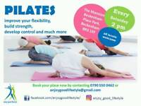FREE FUN PILATES CLASS FOR EVERYONE