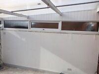 DG windows. 13 foot run of windows and frames UPVC