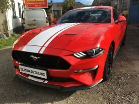Ford Mustang GT MY19 Custom Pack 2 Magneride GT Spoiler and GT Stripes Manua