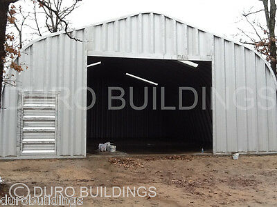 Durospan Steel 30x40x16 Metal Building Garage Workshop Factory Clearance Direct
