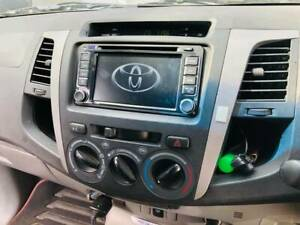 98-2017 Toyota Hilux car DVD Gps head unit with free revere camera