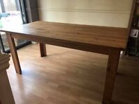 Dining Room Table. Solid, excellent quality, pine.