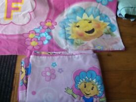 Fifi and the flowertots single bedding, washed and in good condition.