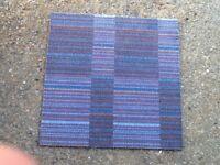 Carpet tiles used some like newn