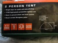 2 man tent new