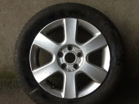 16INCH 5/112 VW ALLOY WHEELS WITH TYRES FIT AUDI SEAT SKODA ETC