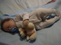 """GORGEOUS REBORN DOLL 22"""" IN EXCELLENT CONDITION WEIGHTED SOFT BODIED"""
