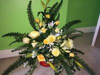 High quality wedding flowers for 9 tables