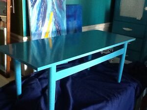 Blue coffee table - 1available