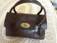 Ladies Mullberry Brown Leather Handbag - Very good condition