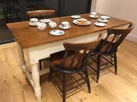 Handsome original Victorian rectangular table