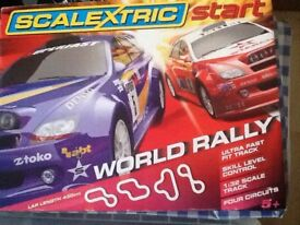 Scalextric world rally