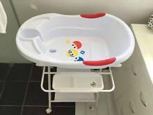 Elmo Baby Bath + Bath Seat + Love'n'Care Bath Stand Auburn Auburn Area Preview