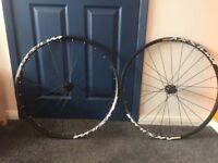 Aksium Mavic road bike wheels, disc brake