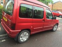 CITREON BERLINGO CAMPER VAN K2 CONVERSION