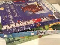 STICKMAN/GRUFALLOW'S CHILD/MONKEY PUZZLE JIGSAW BOOKS