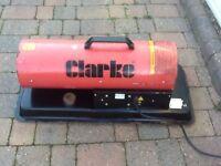 Clarke space heater diesel/paraffin XR55