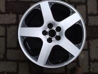Vw Speedline 17 inch alloy wheel