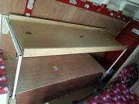 Van conversion top bunk Bed
