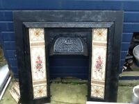 2 cast iron fire surrounds £140 or £70 each