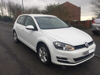2016 vw golf 1.6 TDI cat D going cheap!!! one owner!!! low milage!!!